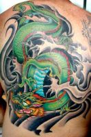 Japanese Dragon by ChrisVennekamp
