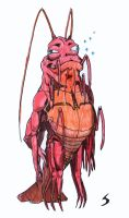 demented prawn person by saganich