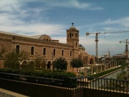 Church in Down Town - Beirut by Alharith
