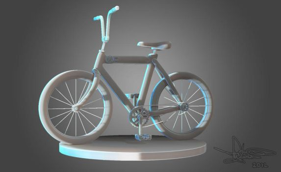 Zbrush Bike test by TheZakMan