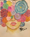Head of Flowers by Egoamores