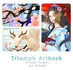 Triumph Artbook Preview : Frozen Flower by Se-Lene