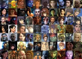 Favourite Video Game Characters by LostOddity