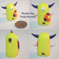 Rosalie the Timid Monster by TimidMonsters