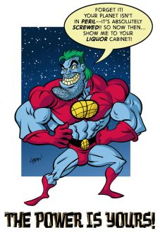 Captain Planet Speaks by LostonWallace
