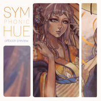 symphonic hue artbook by lackless
