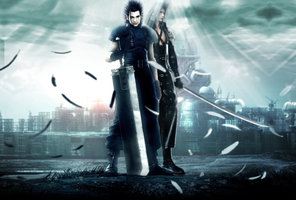 Crisis Core wallpaper by Sentry86