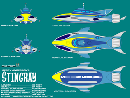 Gerry Andersons Stingray REVISED by ArthurTwosheds