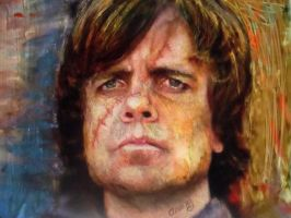 Tyrion Lannister - game of thrones serie by AnnarXy