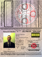 Ye Olde Gallifreyan Passport by CommodoreHorton