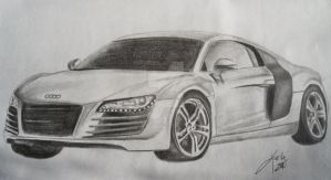 Audi R8 by chemicalpanic1