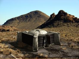 Fallout bunker by georgdestroy