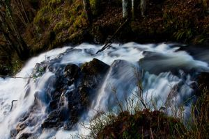 Top Of The Falls To You by derekbeattieimages