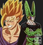 DBZ- Gohan vs Cell by TheDreamVirus