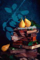 Verses of autumn gardens (with pears) by dinabelenko