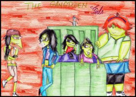 The Gangreen Girls. by MrsxSnake