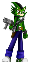 Cien's Locked and Loaded by ShadowFlames17
