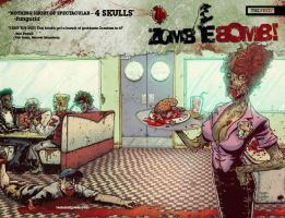 Zombie Bomb Vol 2 The FEED by johnraygun