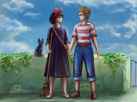 Kiki and Tombo by Exilicca