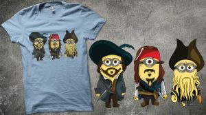 Minions of the Caribbean by usmelllikedogbuns