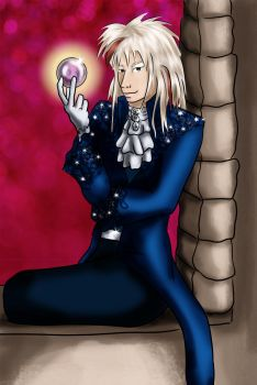 Aardrin as Jareth by girl-n-herhorse