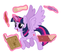 Magic Time: Twilight Sparkle by Osipush