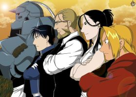 Full Metal Alchemist by BrianHidan