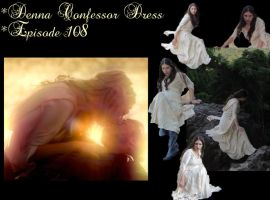 Denna's Confessor Dress by ThePrincessNightmare