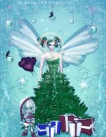 Christmas Tree Fairy by pixievamp