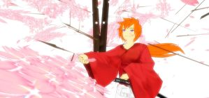 MMD Rurouni Kenshin by KingdomHeartsNickey