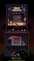 Space Invaders Arcade Graphics by GovectorZ