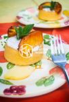 Grilled Peach and Ricotta Tart by noregretting91
