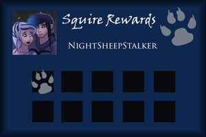 NightSheepStalker Squire Rewards Card by SapphireSquire