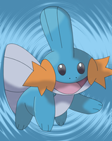 Mudkip XD by Destiny-The-Hedgimon