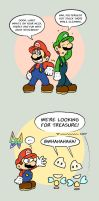 Mario randomness by TheBourgyman
