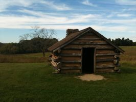 Valley Forge Cabin by Bandgirl101