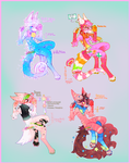 Collab:Pink Candy {Vullowisp Auction} almost done! by MoggieDelight