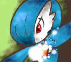 Shiny Gardevoir by KayaaXx
