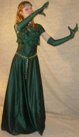 Danielle Green Dress Gloves 2 by FantasyStock