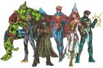 The League of Avengers colours by kameleon84