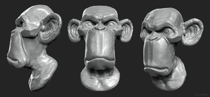 speedsculpt Monkey by Breaky