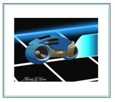 Tron Lightcycle by michelledh