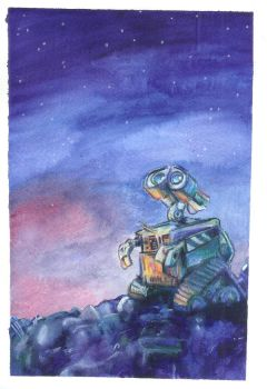 Wall-E by lavendershards