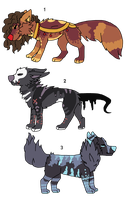 Adopt a wolf ( OPEN ) by NEAVITZ-ADOPTS