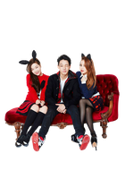 Hi Suhyun with Bobby PNG by Yourlonglostsister