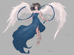Angel by Litteria