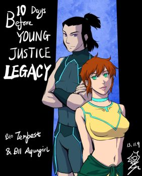 Young Justice Legacy count down 10 by riyancyy777