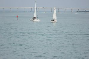 Sailboats by Anony-Mus