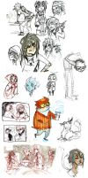 Sketch Dump 3 by Cabycab
