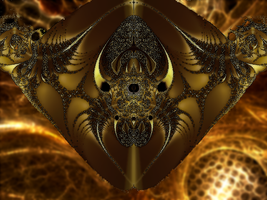 Arachnal Fractal by kofferwortgraphics